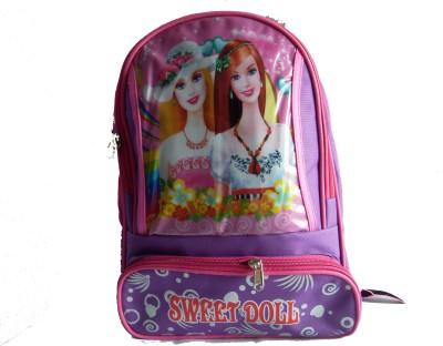 AYAANGLOBALMART School Bag(Pink, 18 inch)