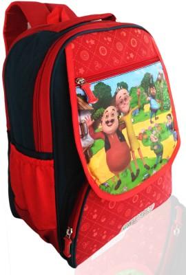 Digital Bazar Yummy Red CHILLI London MOT-PAT Russian City (GABBAR)FLAP Edition Waterproof School Bag