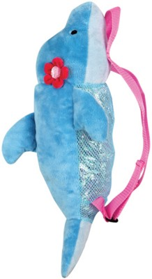 Stephen Joseph Silly Sac Dolphin Waterproof Multipurpose Bag