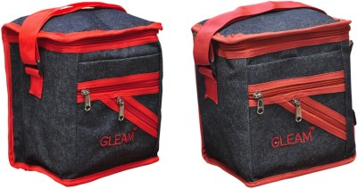 Gleam Padded 1 Container Box Lunch Bags