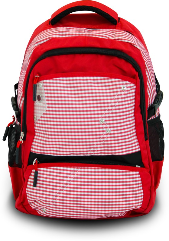 Genius Genius Backpack 1518 Backpack(Red, 17 inch)