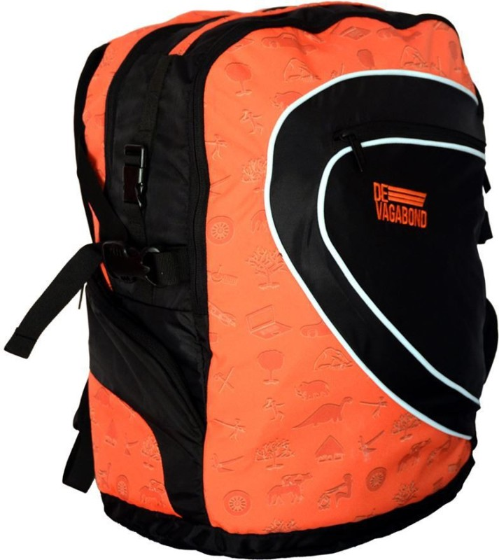 Devagabond Backpack(Orange, 35 L)