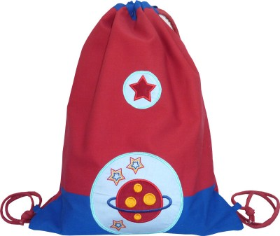 Little Pipal Planet Junior Drawstring Backpack