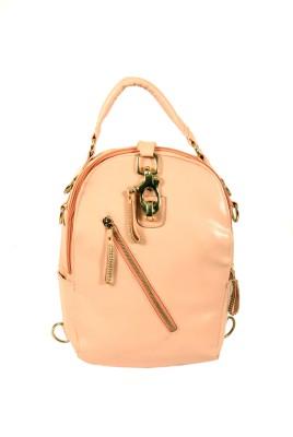 India Unltd Peach Back Pack School Bag