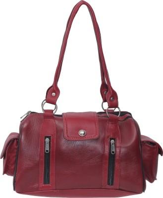 ALTILA Waterproof Shoulder Bag(Dark Red, Mixed Tan Red, Multi Colour, 5 inch)