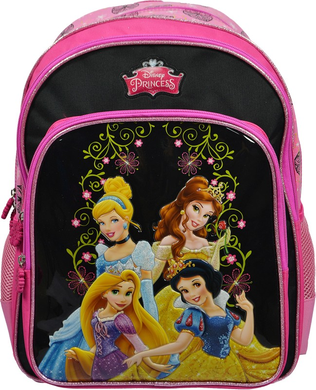 Simba Disney Princess School Bag(Pink, 16 inch)