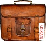 Adimani Messenger Bag (Brown, 20 L)