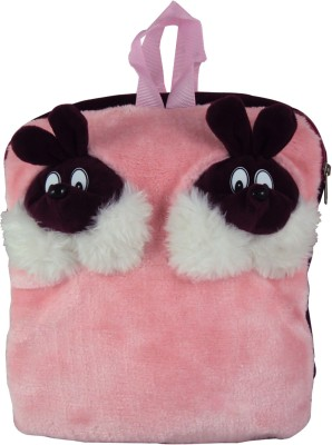 Sisamor Double Rabbit Pink Kids School Bag