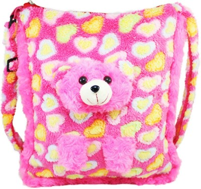Tickles Adorable Teddy Sling School Bags School Bag