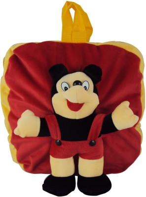 Sisamor Red Mouse Kids School Bag