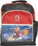 AMU Waterproof School Bag (Multicolor, 1...