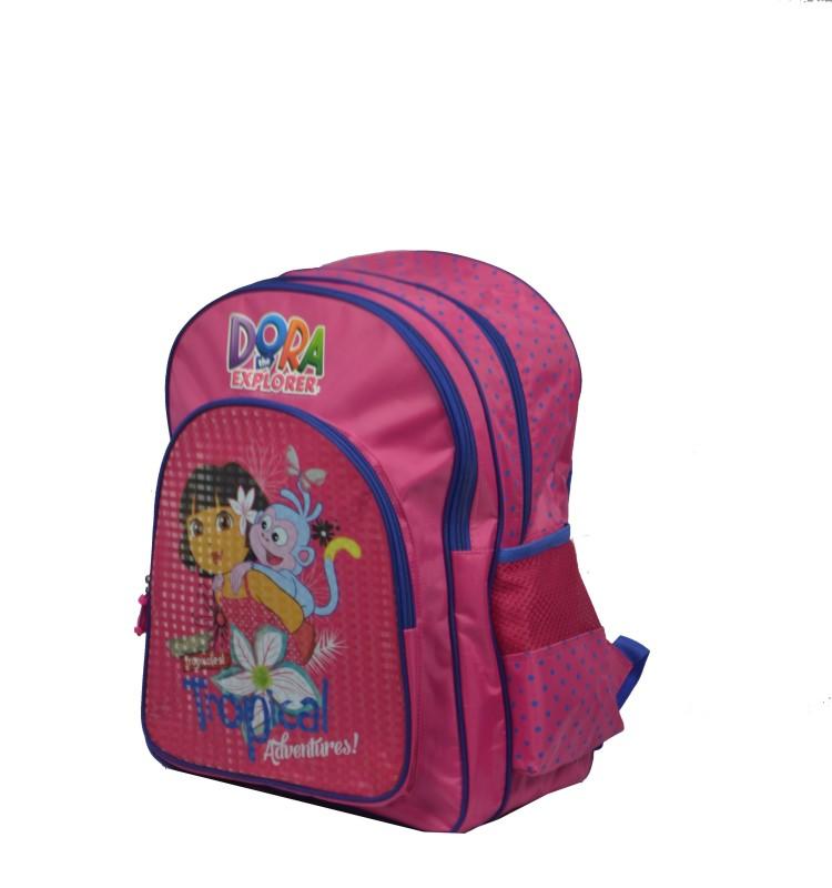 Dora School Bag(Pink, 16 inch)