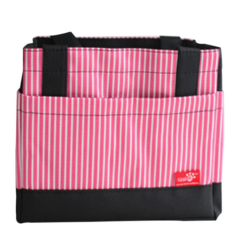 EZ Life Waterproof Lunch Bag(Pink, 9 inch)
