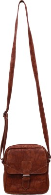 Hidetrend Sling Bag(Coffee Brown, 8 inch)