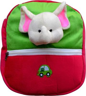 Funtastik Pink Elephant Design Kids Bag  - 40 cm