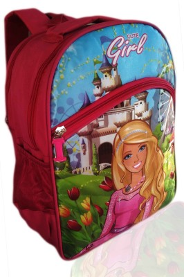 Digital Bazar Strawberry American Pink WOW N WOW Cartoon School Bag (SUPER PRIYAMAINA KUMÄ€RTE) MALAYALAM Edition Waterproof School Bag