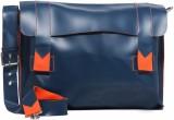 Harp Messenger Bag (Blue)