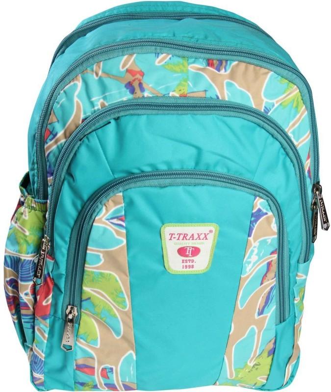 T-TRAXX Waterproof School Bag(Blue, 12 L)