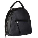 Lychee Bags Women Black PU Shoulder Bag