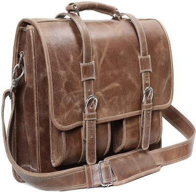 Ohm Leather Italian bag School Bag