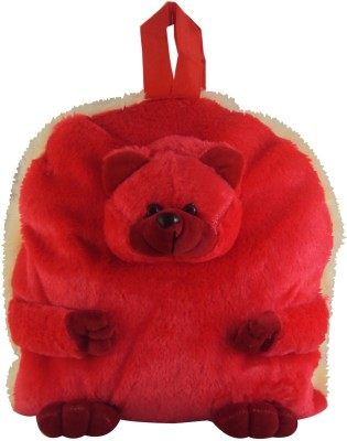 Sisamor Soft Red Bear Kids School Bag
