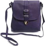 Belladona Women Purple PU Sling Bag