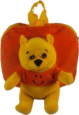 Sisamor Kids Orange Bear School Bag