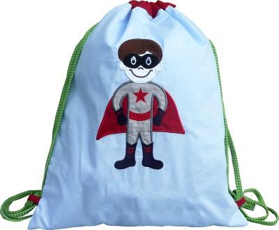 Little Pipal Superhero Junior Drawstring Backpack