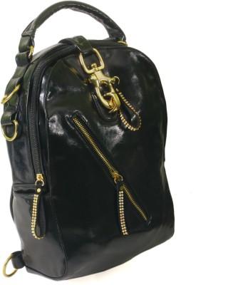 India Unltd Black Back Pack School Bag