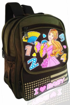 Digital Bazar ATLANTICA PINK RUSSIAN PRINCESS (MUMMAS CHOICE) Edition Kids Backpack Waterproof School Bag