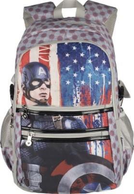 Captain America School Bag