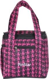 PinStar Cube Lunch Bag Lunch Bag(Multicolor, 6 L)