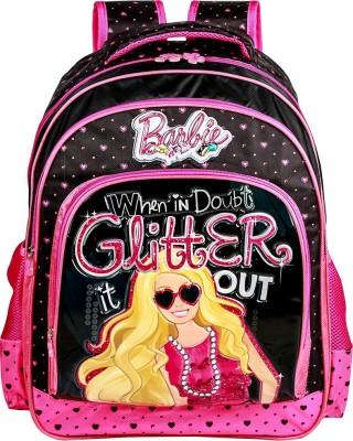 Mattel Barbie Glitter it out School Bag