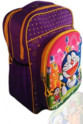 Digital Bazar Russian Blue 3D EMBOSSED DORA MIRACLE BOY Cartoon Backpack (MANŌHARAMAINA KUMĀRUḌU) Edition Waterproof School Bag