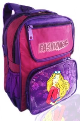 Digital Bazar Punjabi Miracle Pink DASHING CHARMY GIRL (LOVELY ERNAKULAM) Edition Waterproof School Bag