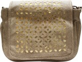 Silver Swan School Bag (Mud Brown, Golde...