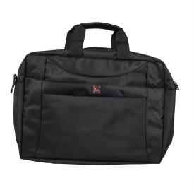 Safex DELTA_BLACK Laptop Bag(Black)
