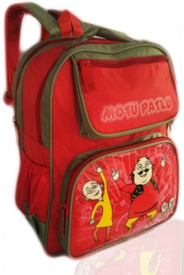 Digital Bazar Darjeeling Red MONTLU PONTLU Cartoon School Bag (MIRACLE MALAYALAM) Special Edition Waterproof School Bag