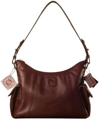 eZeeBags Maya Genuine Leather Handbags Shoulder Bag