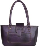 Prepra Handbags School Bag (Purple, 5 L)