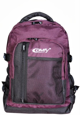 Comfy College and School Bag Waterproof School Bag(Purple, 8 inch)