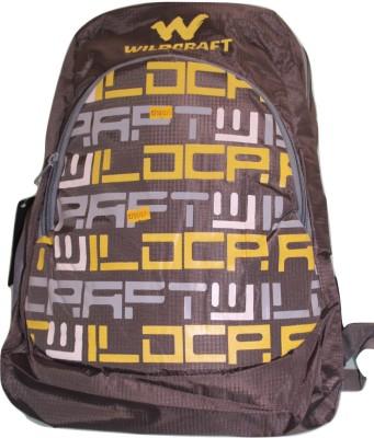 Wildcraft College Back Pack Waterproof Shoulder Bag(Grey, 20 inch)