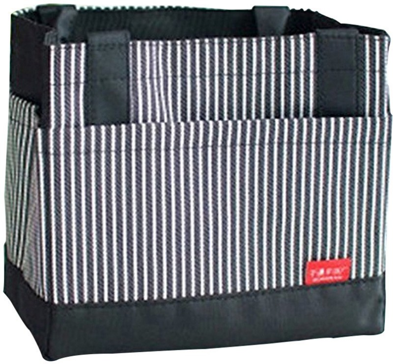 EZ Life Waterproof Lunch Bag(Black, 9 inch)