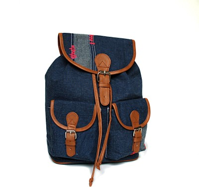 Shaun Design Denim Bag Backpack