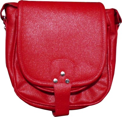 Stylon Waterproof Sling Bag(Red, 12 inch)
