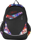 Maxion Backpack (Black, White, 16 inch)