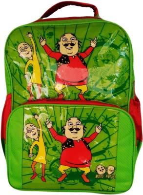 Digital Bazar Cartoon MOTU PATLU backpack Waterproof School Bag