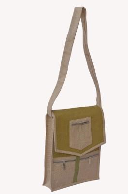 Olive Green Waterproof School Bag
