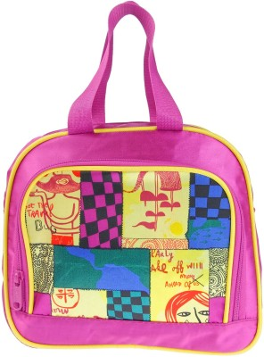 JG Shoppe Lunch Bag Waterproof School Bag(Pink, 5)