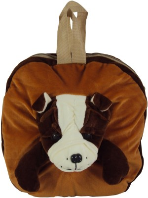 Sisamor Kids Brown Bull Dog School Bag